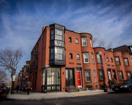 Boston home renovation - Robert Paine Home exterior