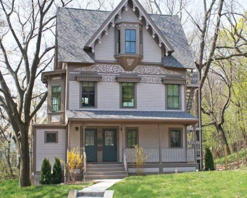 Boston home remodel - Highland Cottage exterior