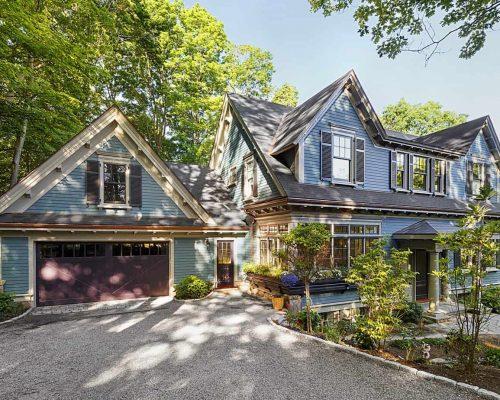 Boston custom residential construction - Brookline Residence Exterior